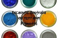 Encaustic Australia pigments
