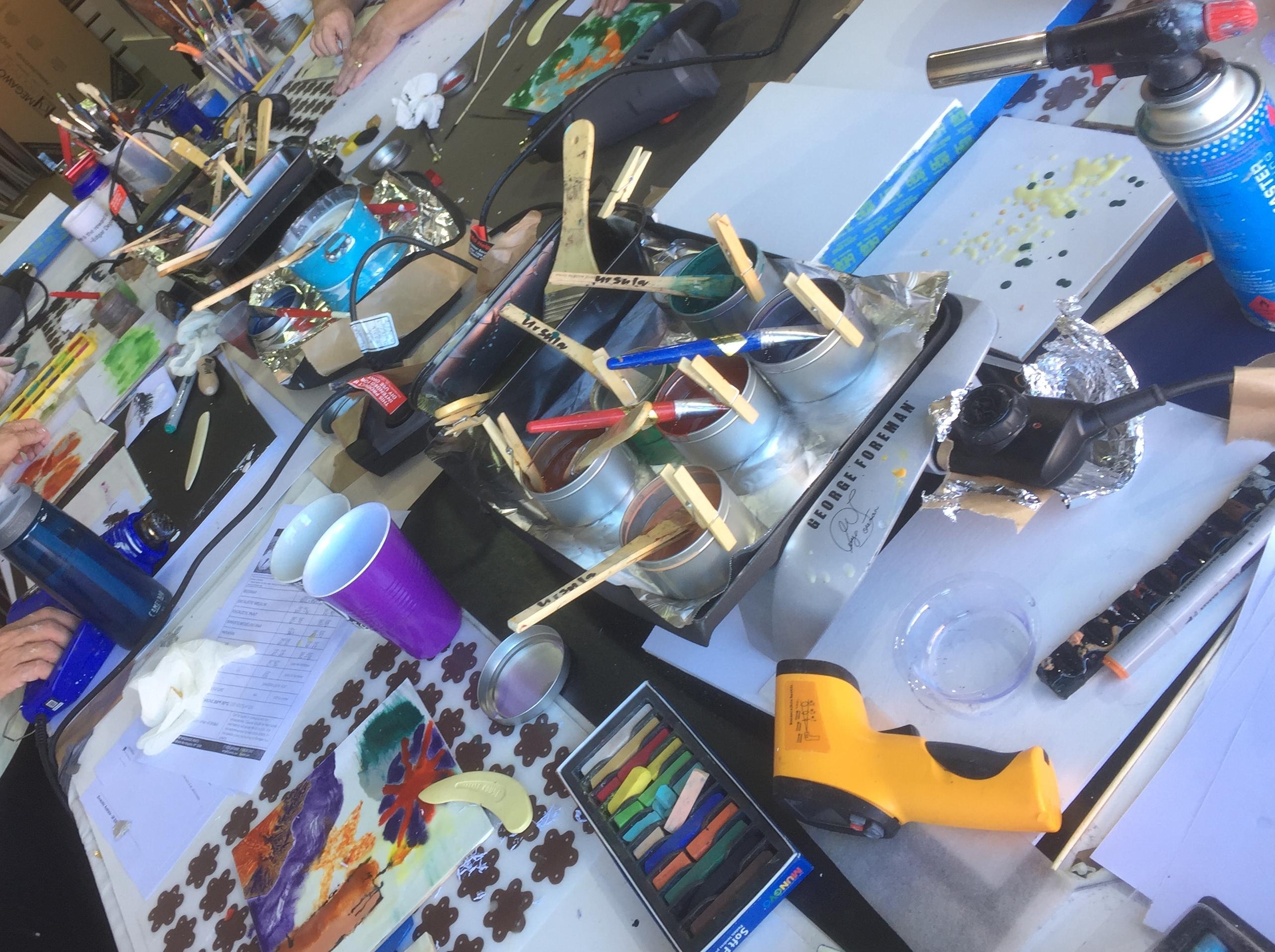 Encaustic-australia-workshops-may