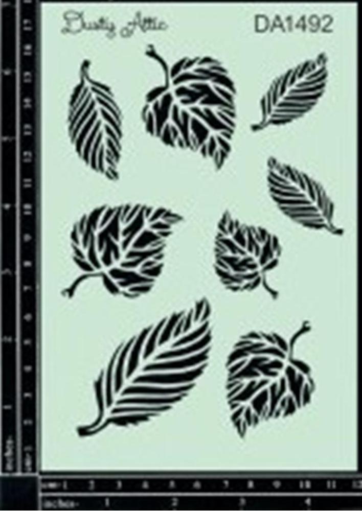 leaves_stencil__encaustic-australia-supplies