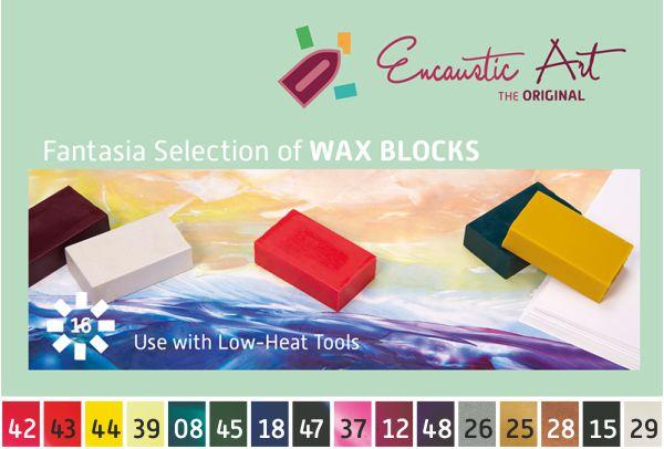 Encaustic Wax - Fantasia Set