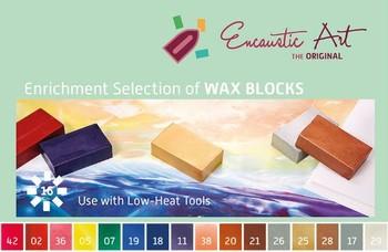 Encaustic Wax - Enhancing Set
