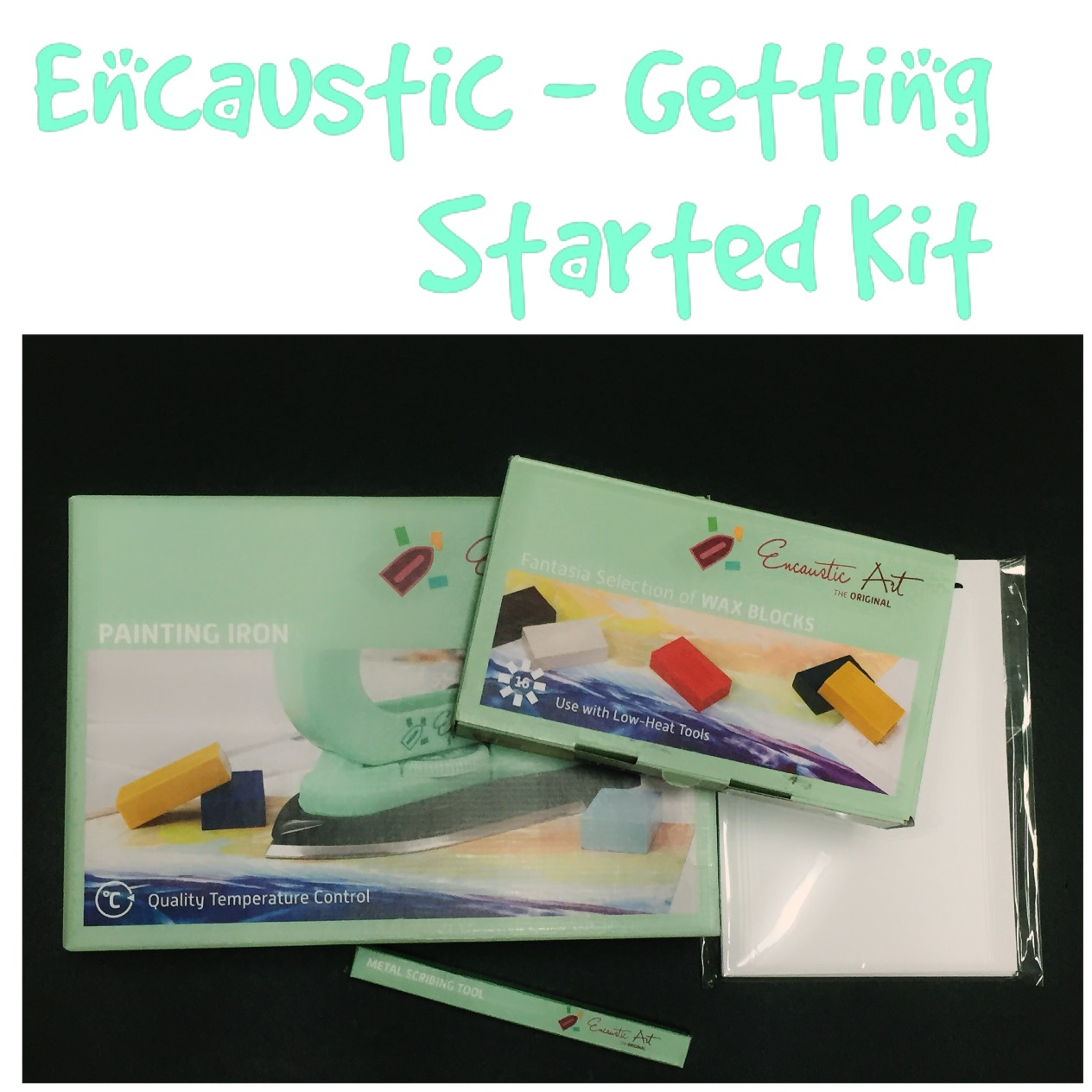 Encaustic Iron - Getting Started Kit