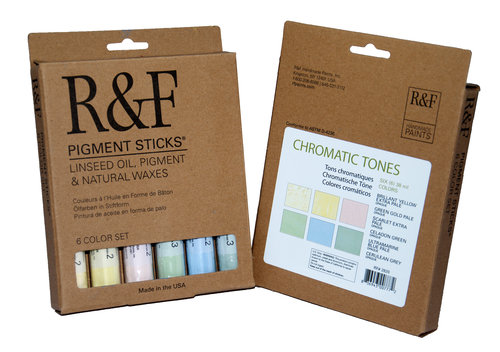R&F Pigment Stick - Chromatic Tones