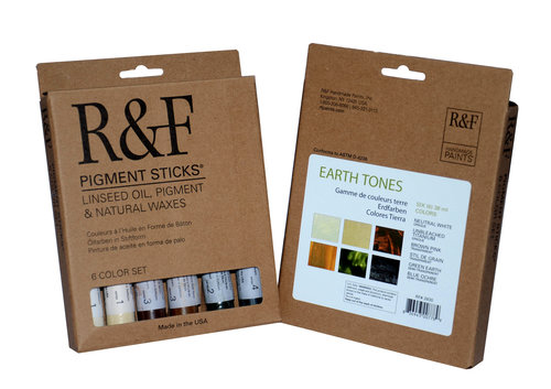 R&F Pigment Stick - Earth Tones