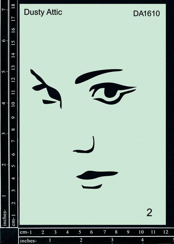 Stencil Face