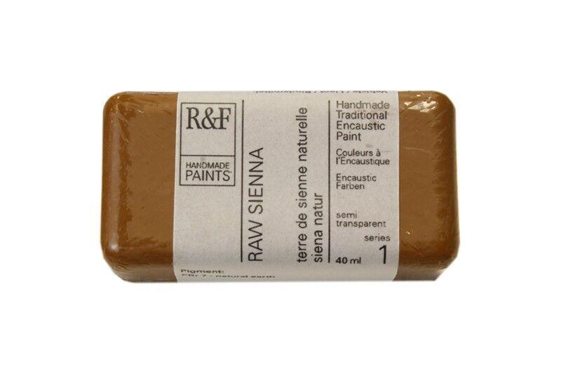 R&F Encaustic Paints 104ml - Raw Sienna