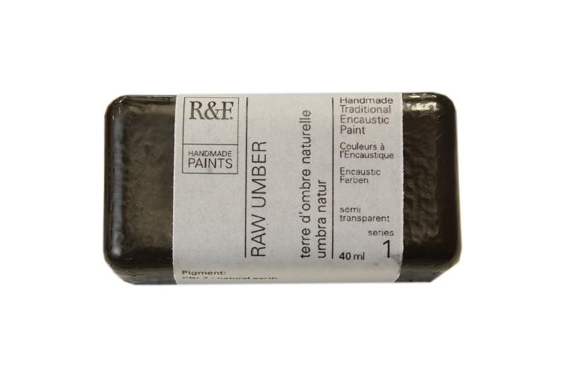 R&F Encaustic Paints 104ml - Raw Umber