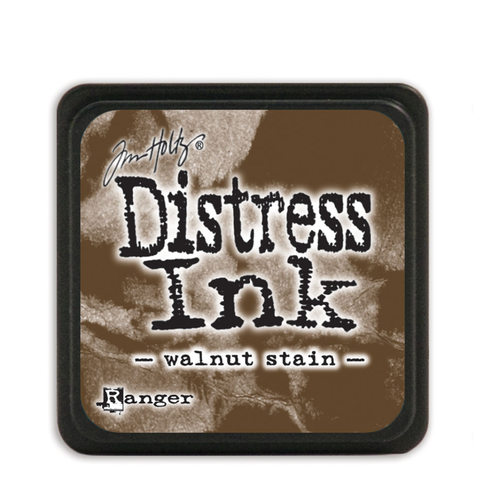 Distress Ink Pad Mini - Walnut Stain